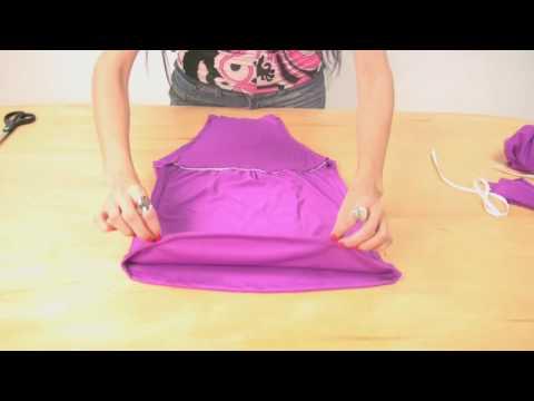 КАК СШИТЬ МОДНЫЙ ТОП | How to sew a trendy top