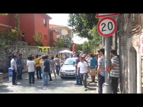AKP Gençlik Kolları İstanbul Üniversitesi'nden işte böyle kovuldu!