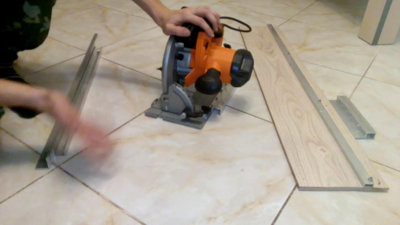 Направляющая шина для циркулярной пилы своими руками инструкция 100