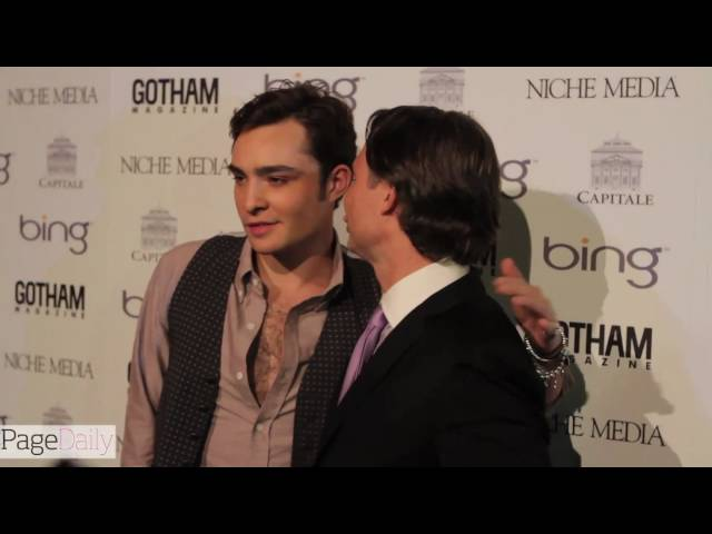 PageDailyTV: GOTHAM Magazine Anniversary Party with Gossip Girl's Ed Westwick and Mary J. Blige