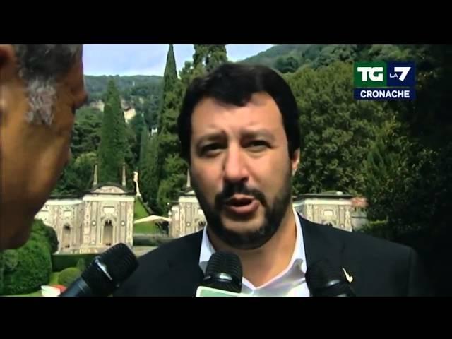 Tg La7 Cronache - Matteo Salvini dalla Corea del Nord a Cernobbio