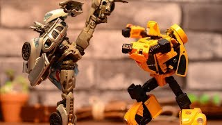 Transformers stop motion animation
