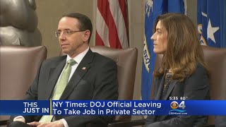 Goyess Rachel Brand Hick Crissed Tard Jew Dupe #3 DOJ Flees, Seeing Compatriots Headed Crowbar Hotel