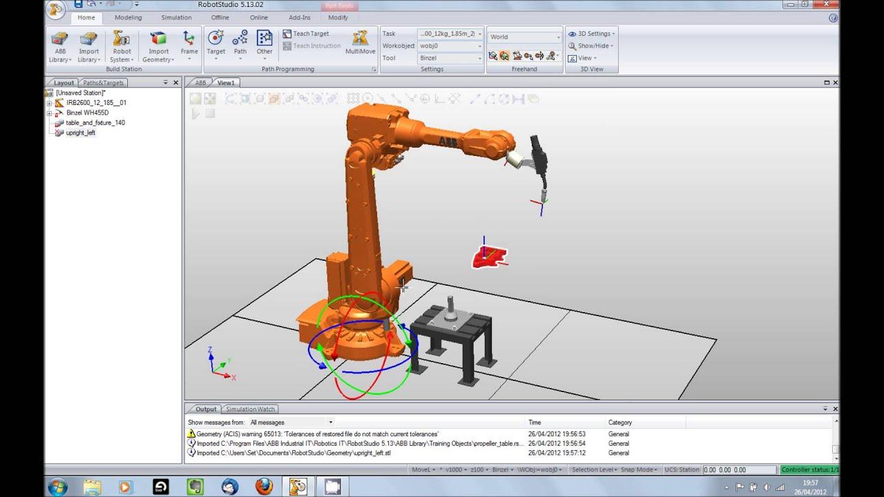 RobotStudio Tutorial -...