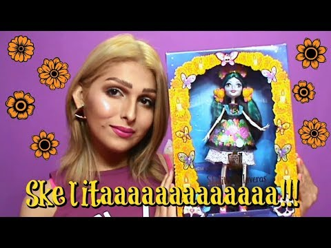 MONSTER HIGH: Skelita Calaveras Adult Collector !♥ (Review del review)