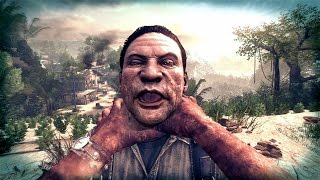 Call of Duty Black Ops 2 - Raul Menendez Brutal Rampage Kills