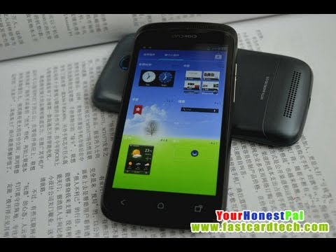 HDC One S Plus MTK6577 Dual Core 1.2GHz 4.3 QHD screen system reviews