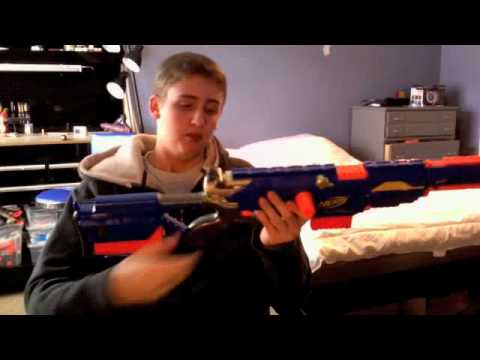 [REVIEW] Nerf Longstrike - Unboxing. Review. & Firing Test
