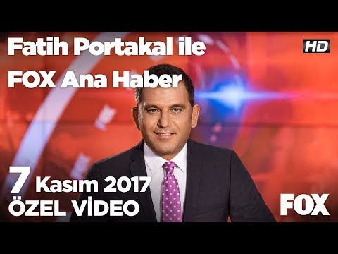 Erdoğan ve Bahçeli'den ABD'ye sert sözler! 7 Kasım 2017 Fatih Portakal ile FOX Ana Haber