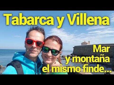 Tabarca y Villena, ¡mar y montaña el mismo finde!