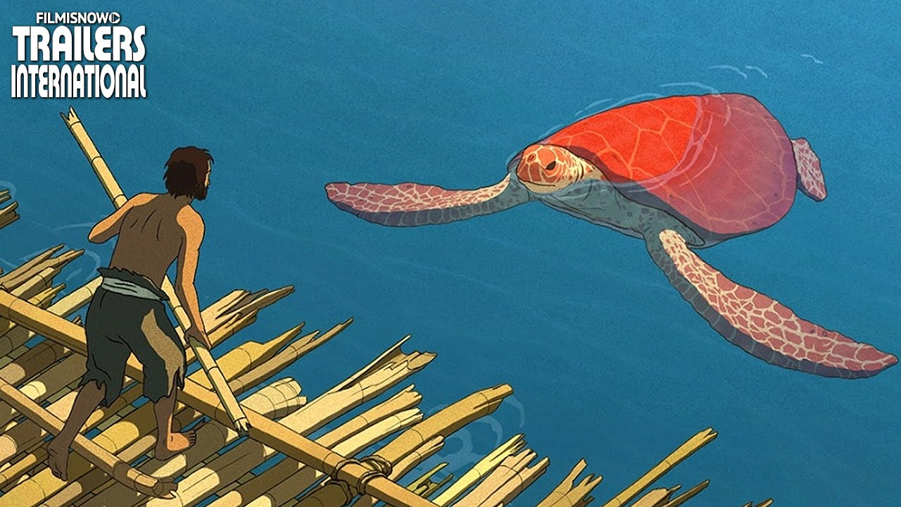 THE RED TURTLE - an animated fantasy movie | Official Trailer [HD]