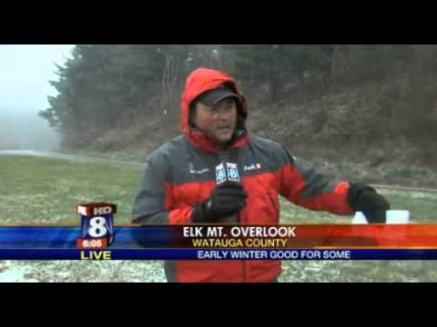 WGHP Fox8 Winter Storm Coverage (October 29, 2012)