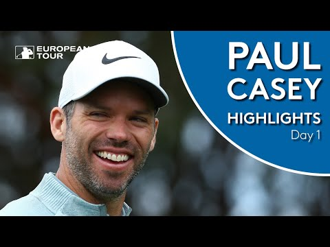 Paul Casey Highlights | Round 1 | Porsche European Open