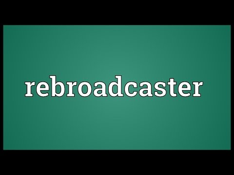 Header of Rebroadcaster