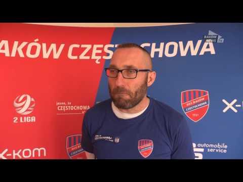 Marek Papszun Przed Meczem Z Siarką. // Raków News TV