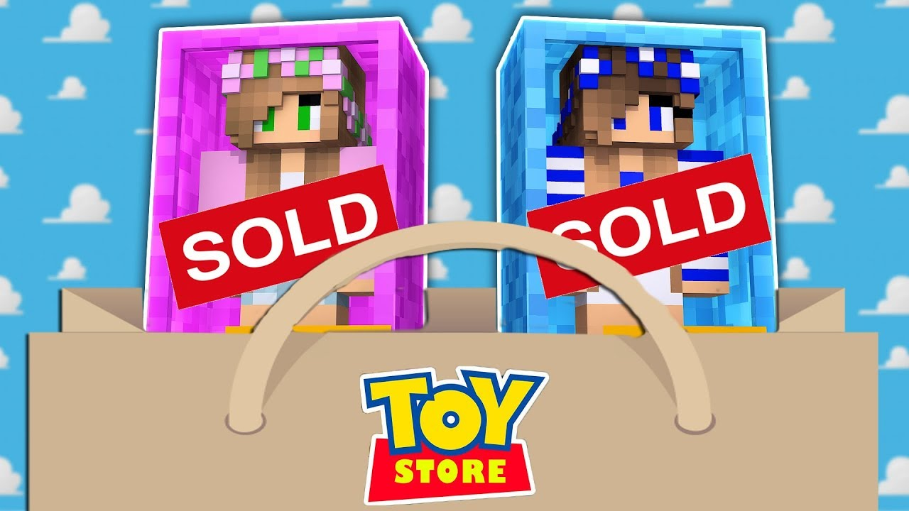 LITTLE KELLY AND CARLY DOLLS ARE SOLD! Minecraft Toystore
