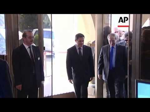 UN/ Arab league special envoy Brahimi arrives in Syria