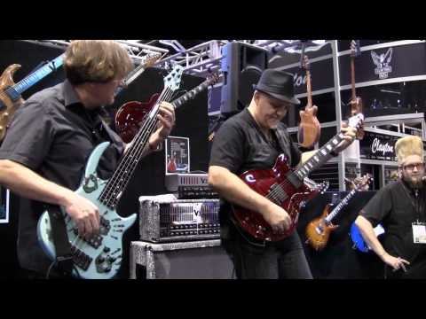 500 Miles High - Bunny Brunel and Frank Gambale NAMM 2011