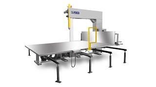 ELQ-4DXL Deluex Vertical Foam Cutting Machine