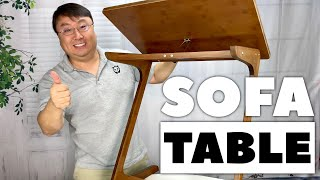 Laptop Tray Table Sofa Desk by NNEWVANTE Setup and Review