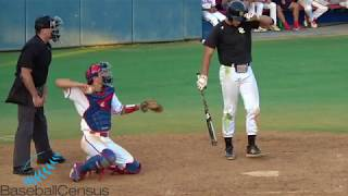 Zach Morgan, Fresno State — 2019 Catching Video