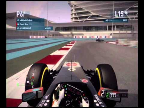 ICR Racing league season 9 race 19 Abu Dhabi