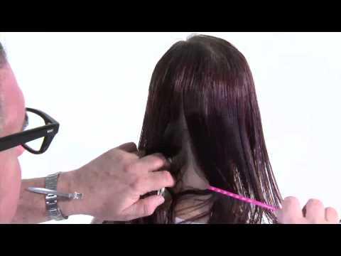 Уроки стрижки каре - видео