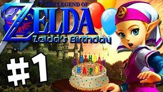 Zelda's Birthday - Part 1 [All Praise the Quad Sun]
