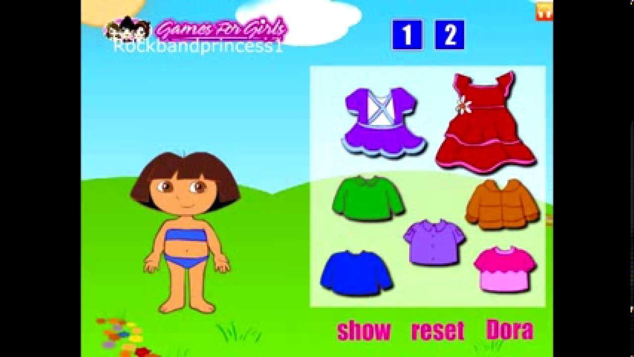 Dora The Explorer Free Online Games Dress Up Dora The ...