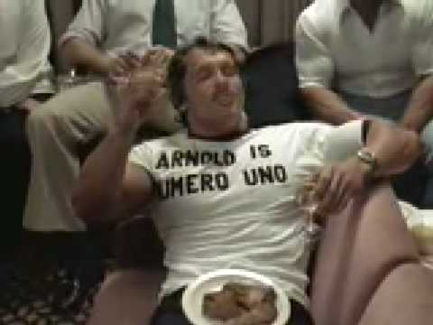 Arnold Schwarzenegger Smoking Weed Video