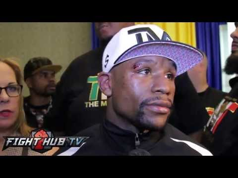 Floyd Mayweather on Maidana rematch