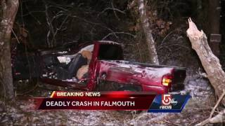 1 dead in Falmouth crash