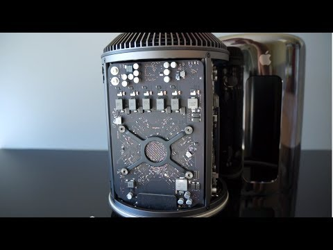 Apple Mac Pro 2013 Unboxing, Benchmarks and First Impressions (6 Core)
