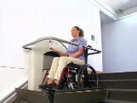 Garaventa xpress ii wheelchair lift youtube for Www garaventalift com