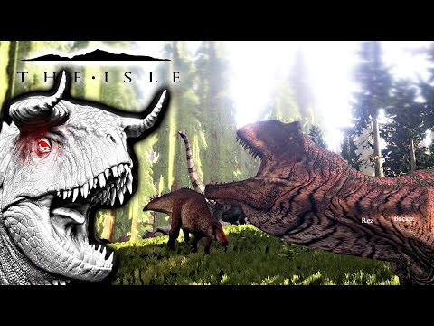 The Isle - HYPO CARNO NEW PREVIEW, GIGA BARELY FENDS OFF 8 SHANTS & BATTLES THERI ( Gameplay )
