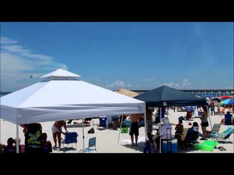 Pensacola Beach 2012 Practice Airshow~ Blue Angels & Team RV