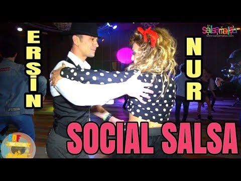 Social Salsa Dance | Nur Özkan - Ersin Altaş | EDF-2018