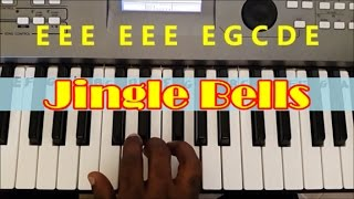 How To Play Jingle Bells. Easy Piano Keyboard Tutorial
