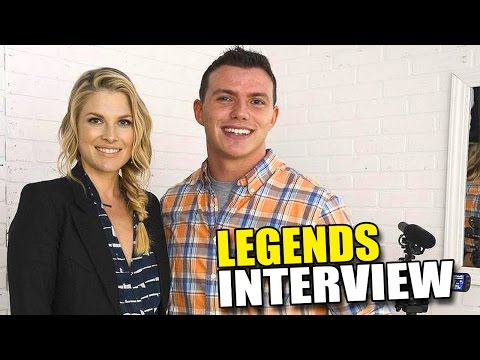 Ali Larter & Morris Chestnut LEGENDS Interview