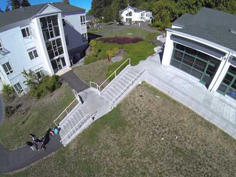 Aerial View of The Overlake School