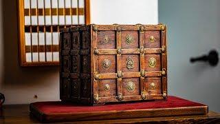 Solving the ANCIENT TREASURE Puzzle Box!!