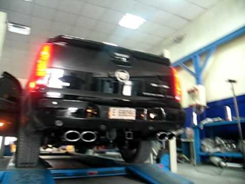 Cadillac Escalade Ext 2008b Avi Youtube