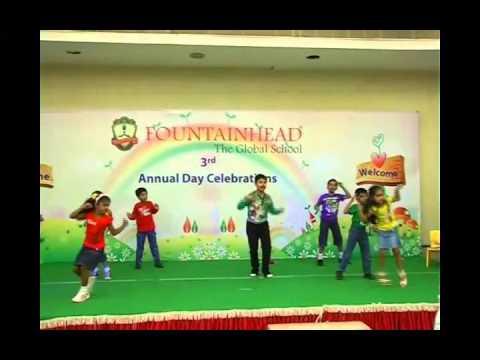 Bam Bam Bole Dance by Class I Children of Fountainhead Global...