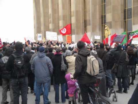 Manifestation de soutien a paris pour la liberté au Maroc 20/02
