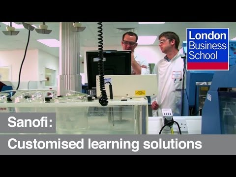 Sanofi: customised learning solutions | London Business School