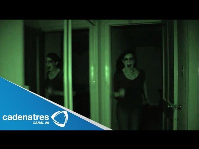 Aterrador video de 'La Dama Blanca' / Vídeos de actividad paranormal