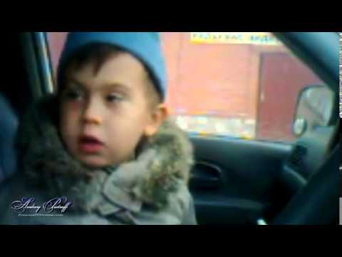 Ян Андреев и его сын...