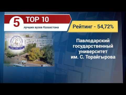 ТОП 10 лучших вузов Казахстана (24.07.2017)