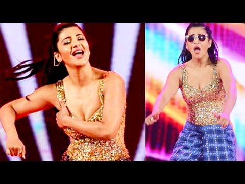 Shruti Haasan's HOT Performance At SIIMA 2015 | Lehren Telugu