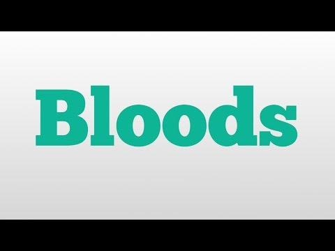 Header of bloods